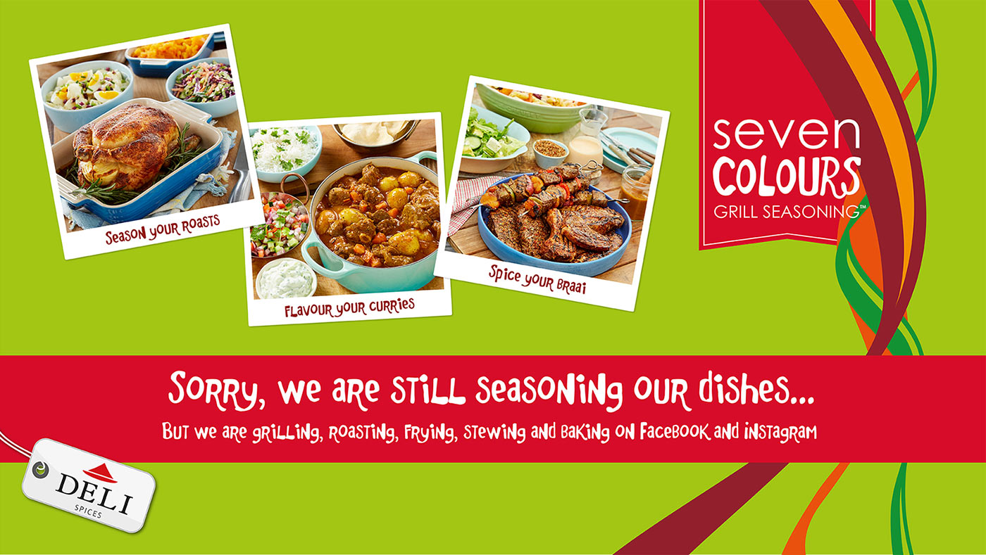 Coming Soon   Seven Colours Grill Seasoning
